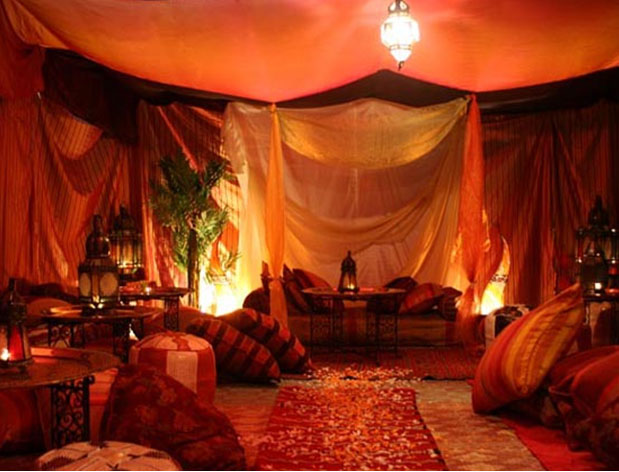Open shows for Arabian night bedroom ideas